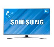 "Samsung UE49MU6400 49"" 4K Ultra HD Smart TV Wi-Fi Zilver LED TV"