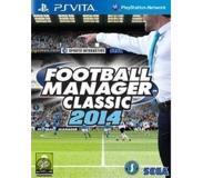 Urheilu: SEGA - Football Manager Classic 2014 (PS Vita)