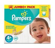 Pampers Jumbopakken: Pampers Premium Protection Maat 4+ Luiers