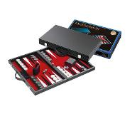 Philos Backgammon rood medium 38x23,5cm