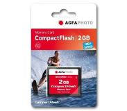 Agfaphoto Compact Flash, 2GB 2GB CompactFlash flashgeheugen