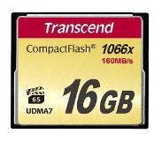 Transcend CompactFlash Card 1000x 16GB flashgeheugen