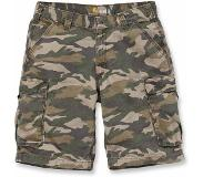 Carhartt Werkshorts Carhartt Men Rugged Cargo Camo Short Rugged Khaki Camo-Maat 34
