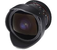 "Samyang 8mm T3.8 VDSLR UMC Fish-eye CS II SLR Groothoeklens type ""fish eye"" Zwart"