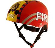 Kiddimoto Fire Red Helm-53 - 58 cm