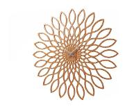 Karlsson Sunflower Wandklok - Hout
