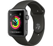 Apple Watch Series 3 42mm Space Gray Aluminium/Grijze Sportband