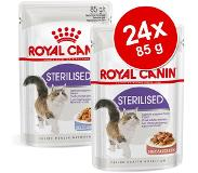 Royal Canin 24 x 85 g Royal Canin Ultra Light in Saus Kattenvoer