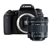 Canon EOS 77D + 10-18mm iS STM