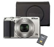 Nikon Coolpix A900 Holiday kit zilver
