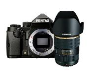 Pentax KP zwart + SMC DA 16-50mm F/2.8 ED IF