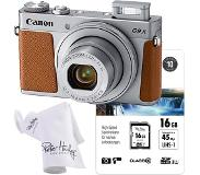Canon Powershot G9X Mark II zilver Special Edition