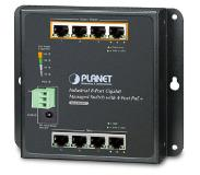 Planet WGS-804HPT netwerk-switch Managed Gigabit Ethernet (10/100/1000) Zwart Power over Ethernet (PoE)