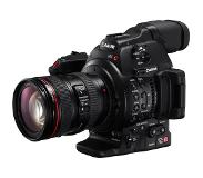 Canon C100 Mark II + EF 24-105mm f/4L IS II USM Zwart