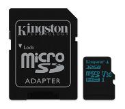 Kingston microSD32GB Canvas Go! SDHC UHS-I U3