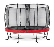 Exit Elegant Premium trampoline ø366cm with safetynet Deluxe - red
