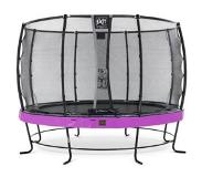 Exit Elegant Premium trampoline ø366cm with safetynet Deluxe - purple