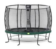 Exit Elegant trampoline ø366cm with safetynet Deluxe - green
