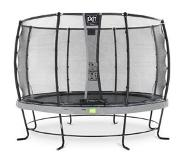 Exit Elegant trampoline ø366cm with safetynet Deluxe (Grey)
