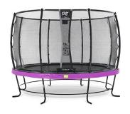 Exit Elegant trampoline ø366cm with safetynet Deluxe - purple