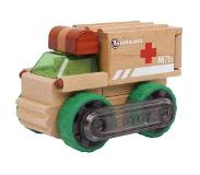 Small Foot Houten Ambulance Blank 13 X 9 X 8 cm