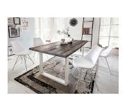 Witte Eettafel 180x90.Mooie Witte Hoogglans Eettafel Meubels