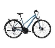 Breezer Bikes Breezer dames-trekkingfiets, 28 inch, 27 versnellingen, »Liberty 4S+ Step Through«