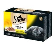 Sheba Variaties Kuipjes 96 x 85 g Kattenvoer - Selection in Sauce