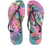 Havaianas Slim Tropical slippers zwart