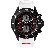 Ice-watch Ice Watch IW001315 Ice-Carbon Chrono White-Black Big Big horloge