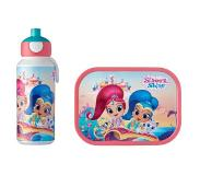 Mepal Lunchset Campus (pop-up drinkfles en lunchbox) - Shimmer & Shine Acrylonitril butadieen styreen (ABS)