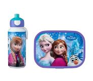Mepal Lunchset Campus (pop-up drinkfles en lunchbox) - Frozen Sisters Forever Acrylonitril butadieen styreen (ABS)