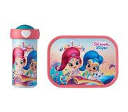 Mepal Lunchset Campus (schoolbeker en lunchbox) - Shimmer & Shine Acrylonitril butadieen styreen (ABS)