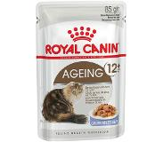 Royal Canin Gemengd pakket: 24 x 85 g Royal Canin in Saus en Gelei - Ultra Light (12 x 85 g in Saus + 12 x 85 g in Gelei)