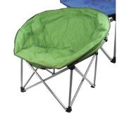 Highlander Luxury Padded Moon Chair campingstoel Kleur: groen