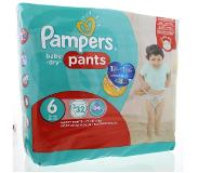 Pampers Baby dry pants XL S6