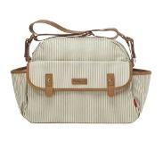 Babymel Molly Diaper Bag Stripe grey Luiertas