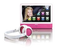 Lenco TDV-900 tablet 16 GB Roze, Wit