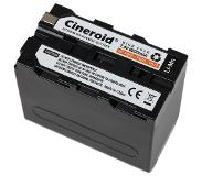 Cineroid Battery NP-F950 type Li-Mn 6600mA (GBT014)