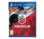 Sony Driveclub, PlayStation 4 Basis PlayStation 4 video-game