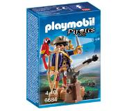 Playmobil Pirates Kapitein éénoog 6684
