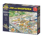 Jumbo Jan van Haasteren The Locks 2000 pcs Legpuzzel 2000 stuk(s)