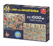 Jumbo Jan van Haasteren New Year Party & Santa's Factory 2 x 1000 pcs 1000stuk(s)