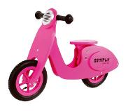 Simply For Kids Houten Scooter Simply - Roze
