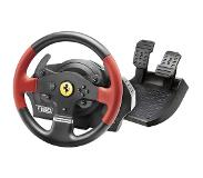 Thrustmaster T150 Ferrari Wheel Force Feedback Stuurwiel + pedalen PC,PlayStation 4,Playstation 3 Zwart, Rood