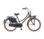 POPAL Daily Dutch Basic TR24 - Transportfiets - 24 Inch - Mat Zwart