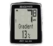 Sigma BC 14.16 Wired bicycle computer Zwart