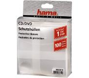 Hama Cd/Dvd Pp Sleeves 100 Pack Trans