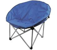 Highlander Luxury Padded Moon Chair campingstoel (Kleur: blauw)