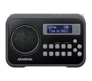 Sangean DPR-67, digitale radio, adapter incl. tasje, DAB+, z